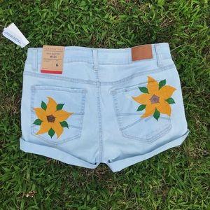 Sunflower Bum Shorts